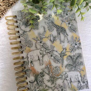 Punch Studio notitieboek golden jungle