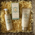 Panier des Sens Soothing Almond verzorgings cadeaupakket